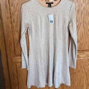 Dress. NWT.  Champagne.  Med